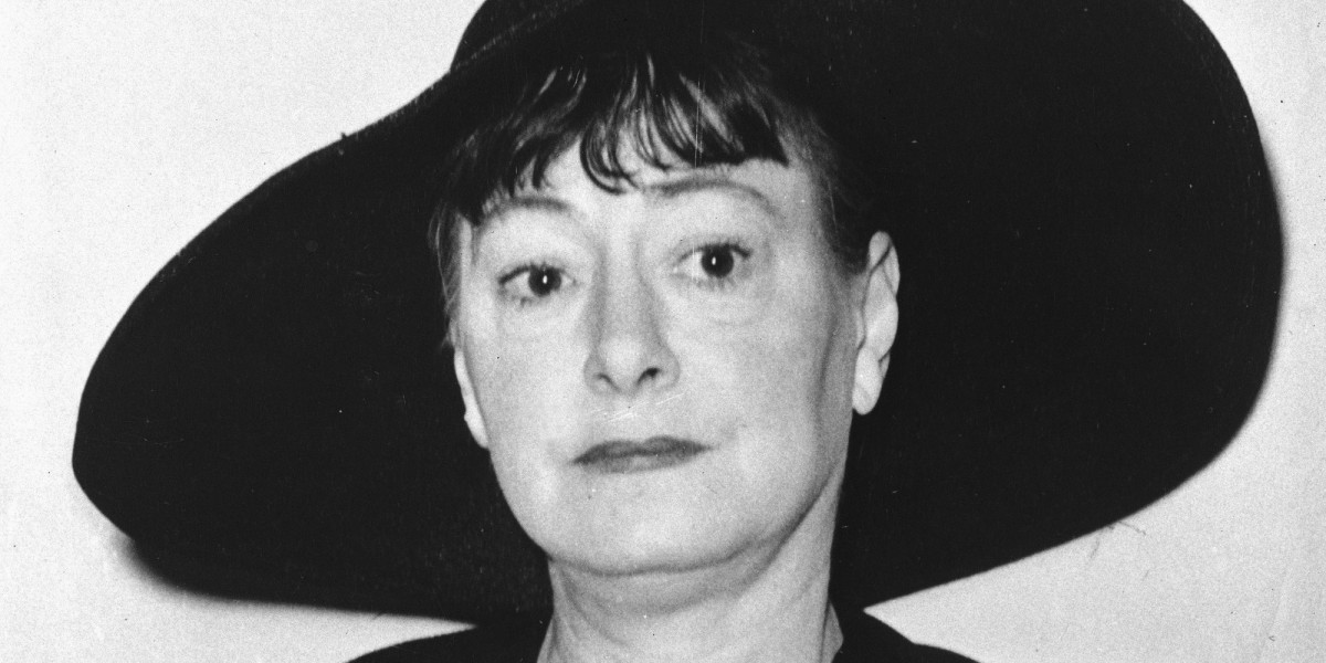 Today in Literary History - June 7, 1967 - Dorothy Parker dies