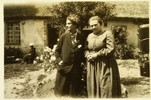 Sylvia and Adrienne at Monnier Family Farm Savoie small