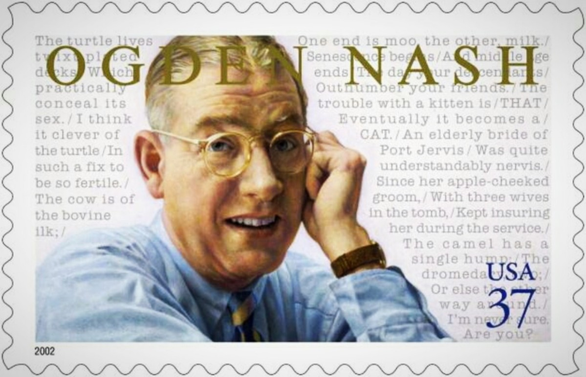 Today in Literary History - May 19, 1971 - humorous poet Ogden Nash dies